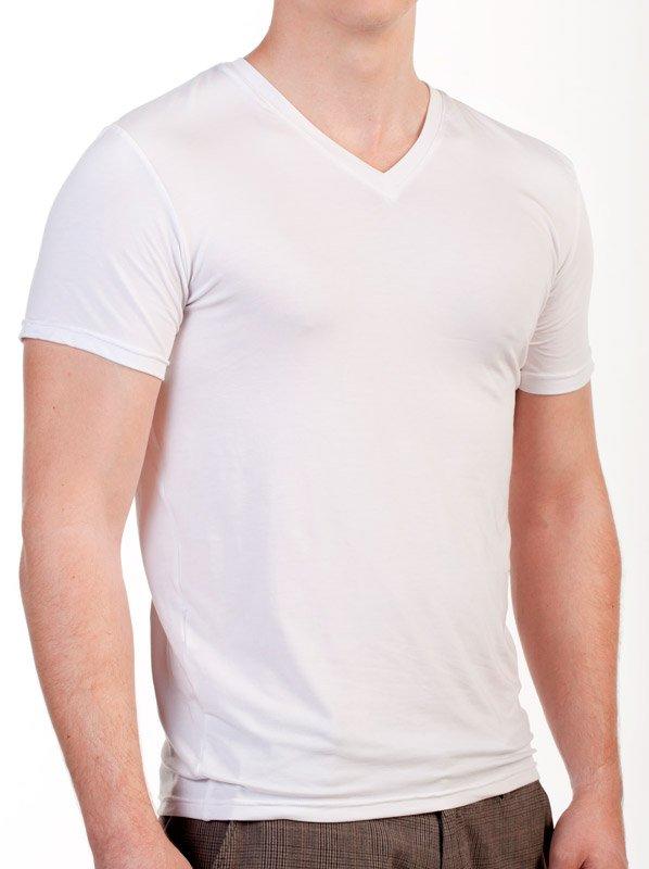 SENSISKIN V-Shirt Kurzarm TENCEL®