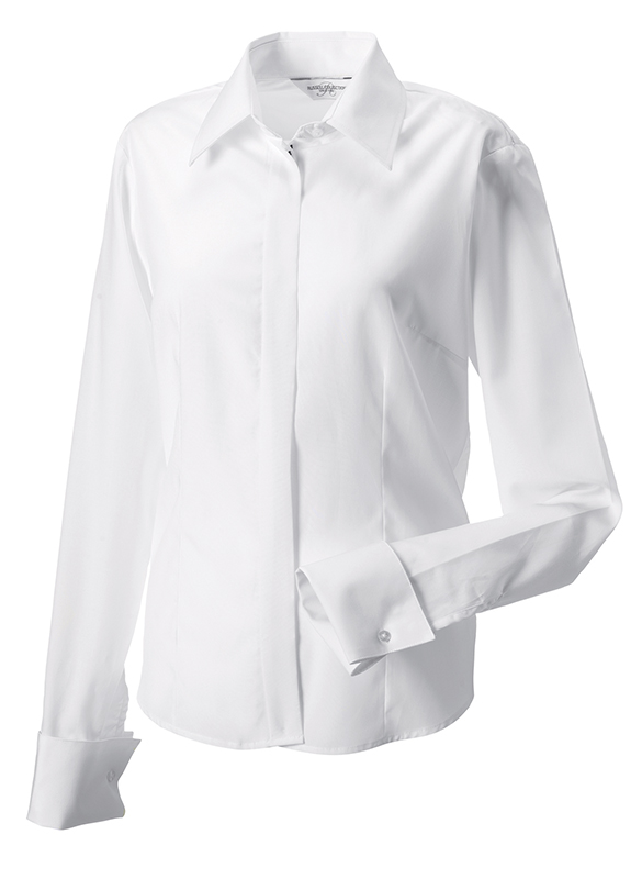 RUSSELL Damen Business Bluse Langarm 6ff1fb7145