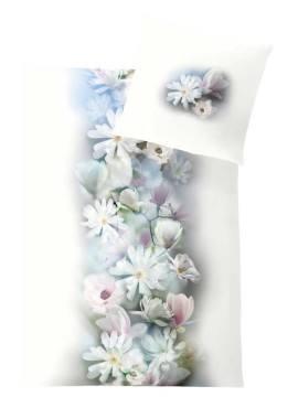 Weiche seidige elegante Luxus Fussenegger TENCEL® Lyocell Bettwäsche EvergreenMagnolia