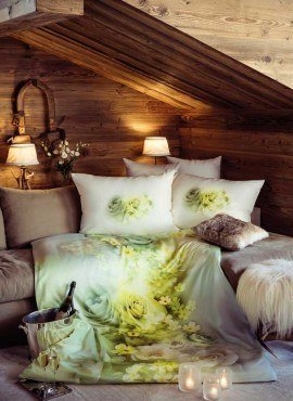 Weiche seidige elegante Luxus Fussenegger TENCEL® Lyocell Bettwäsche Honeymoon_Image