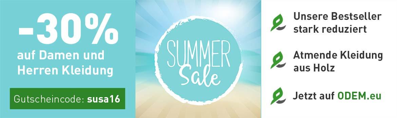 Summer Sale 2016 auf ODEM.eu