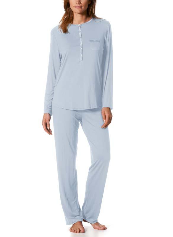 MEY Night Damen Schlafanzug Jeanie