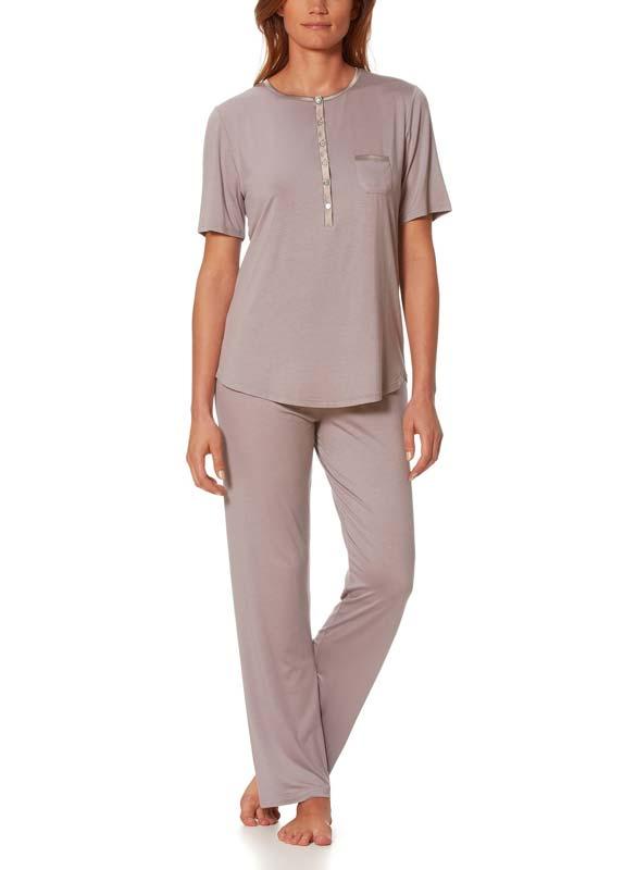 Fabrik authentisch herausragende Eigenschaften geschickte Herstellung MEY Schlafanzug Jeanie Damen Kurzarm