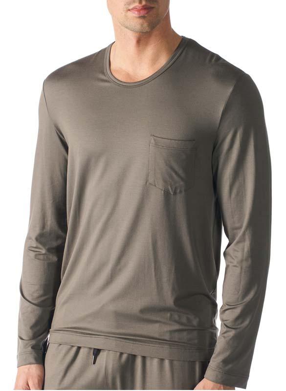 MEY Club Herren Pyjama Shirt 1/1