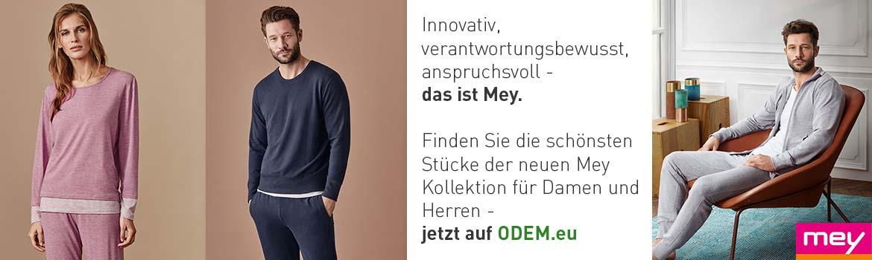 Die neue Mey Kollektion für hochwertige Damen- und Herrenwäsche auf ODEM.eu