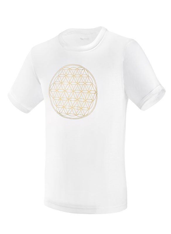 SENSISKIN U-Shirt Blume des Lebens
