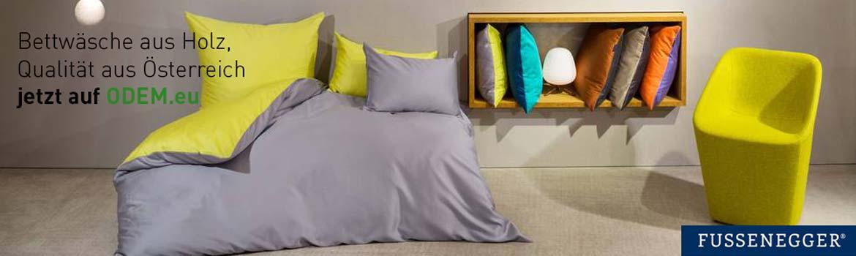 Fussenegger Bettwäsche mit TENCEL® aus Österreich - jetzt auf ODEM.eu