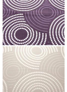 Weiche seidige elegante Luxus Fussenegger TENCEL® Lyocell Bettwäsche : purple, silver