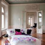 Weiche seidige elegante Luxus Fussenegger TENCEL® Lyocell Bettwäsche Micro Blumen Motiiv