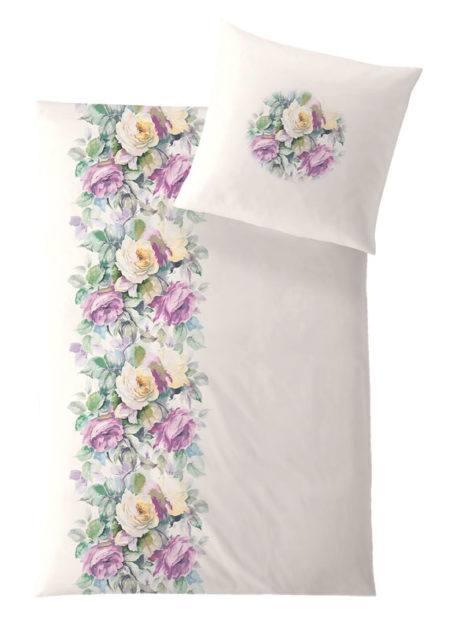 Weiche seidige elegante Luxus Hefel Bettgarnitur Princess TENCEL® Lyocell Bettwäsche Micro Blumen Motiv