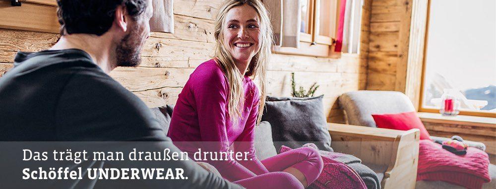 Schöffel Unterwäsche für den Winter aus Merino TENCEL®