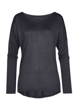 MEY Clara Homewear Shirt black-diamond mit MicroModal®