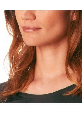 MEY Clara Homewear Shirt black-diamond mit MicroModal® Detail Hals