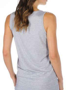 MEY Ariana Top Damen light grey melange mit dem hautsympathischen weichen Stoff aus feinster MicroModal® Holzfaser entfaltet auf Ihrer Haut ein besonderes Wohlempfinden.