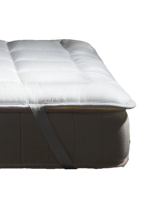 HEFEL Protector Clima mit TENCEL™ / PLA Maisfaser Füllung Boxspring Detail