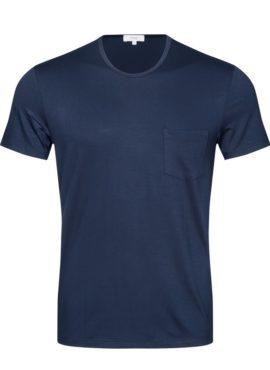 Mey Jefferson Kurzarm Shirt für Herren als Lounge, Home, Pyjama, Nachtwäsche Shirt mit Brusttasche aus hautfreundlicher, anschmiegsam weicher MicroModal® Holzfaser nachhaltig aus europäischer Buche hergestellt.