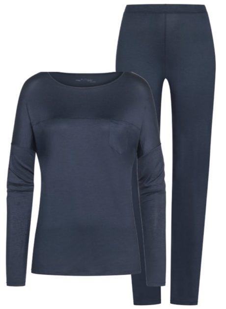 MEY Selina Schlafanzug night blue MicroModal® 13934-408