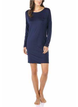 MEY Selina Nachthemd MicroModal® 11934-408 night blue vorne