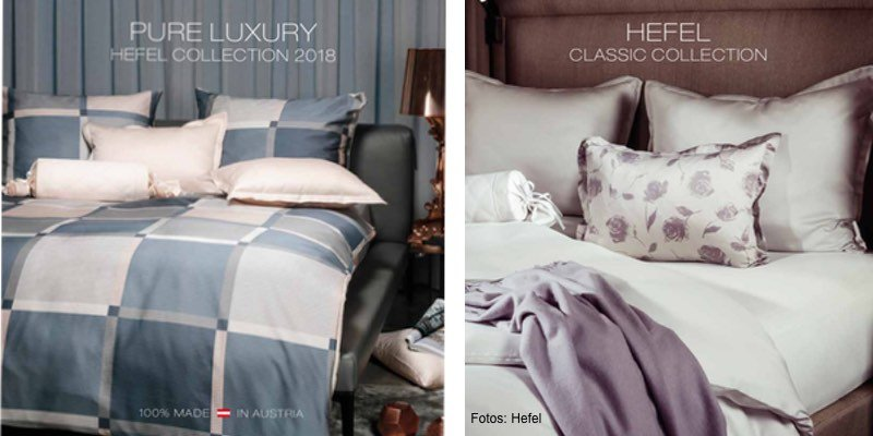 HEFEL Pure Luxury und Classic Collection aus TENCEL™ Micro Lyocell Faser