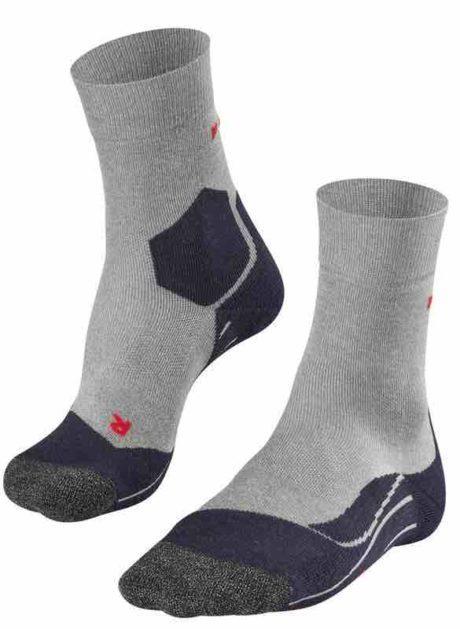 FALKE RU3 Running Socken Herren lightgrey 3406 mit Lyocell