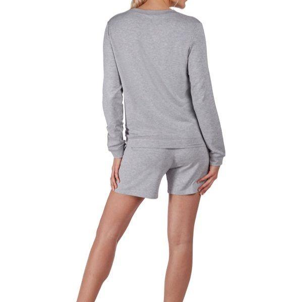... Huber 24 hours women lounge shirt grau-melè 97% Modal, 3% Elasthan ... d4639ca168