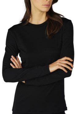 MEY Performance MicroModal Wolle Women Long Sleeved Shirt