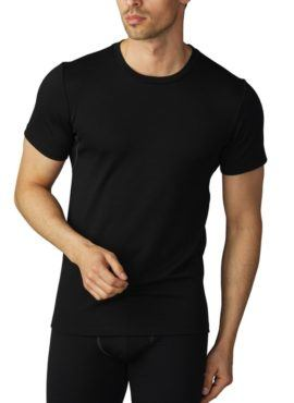MEY Performance MicroModal Wolle Crew-Neck