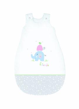 Friends rosa-grau Bebella Vital Baby Schlafsack TENCEL™ / Lyocell