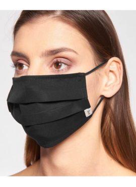 Stoffbruch Mund Nasen Maske aus TENCEL™ Lyocell